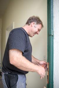 Historische Haustüren aufdoppeln. Haustürsanierungen