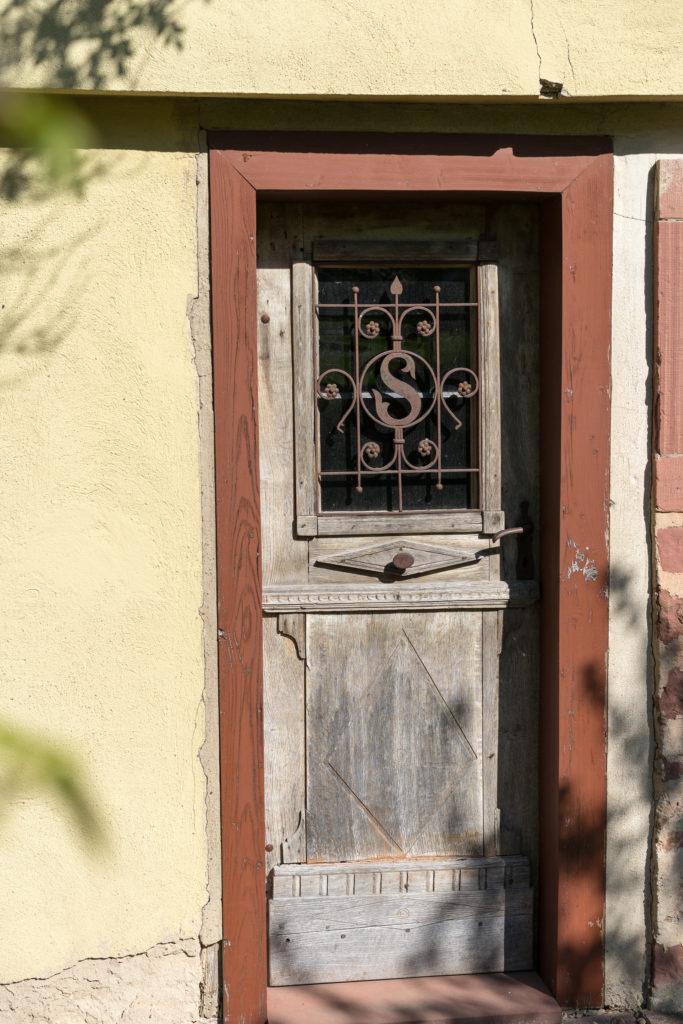 Haustür aufdoppeln