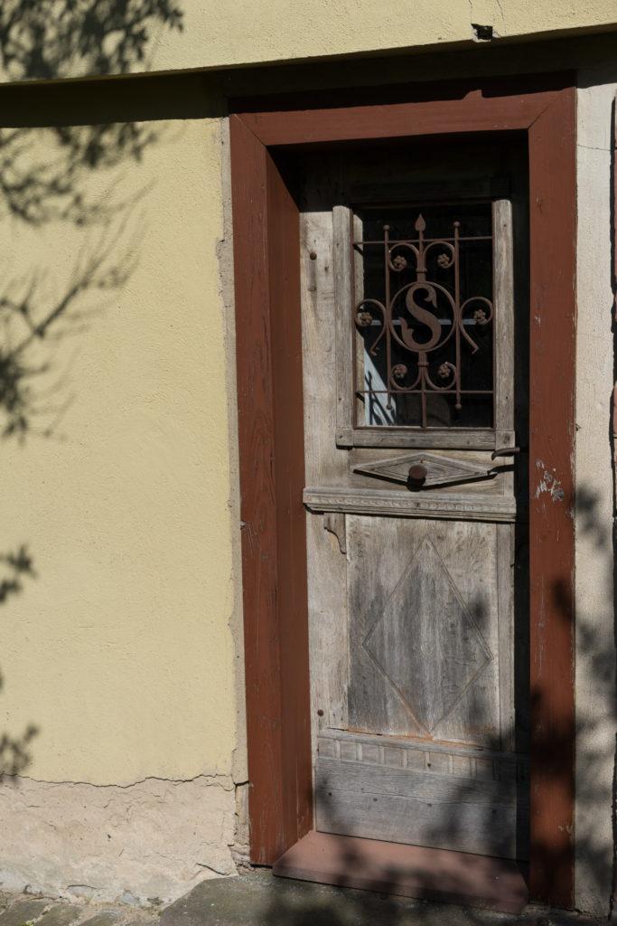 Historische Haustüren aufdoppeln